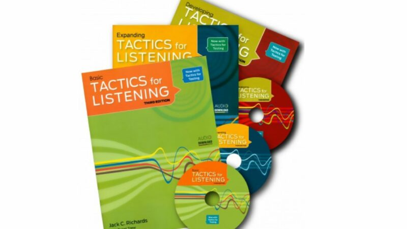 [REIVEW SÁCH] Trọn bộ Tactics for Listening  (3RD EDITION)