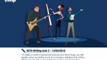 Sample Essay đề IELTS Writing Task 2 ngày 14/04/2018