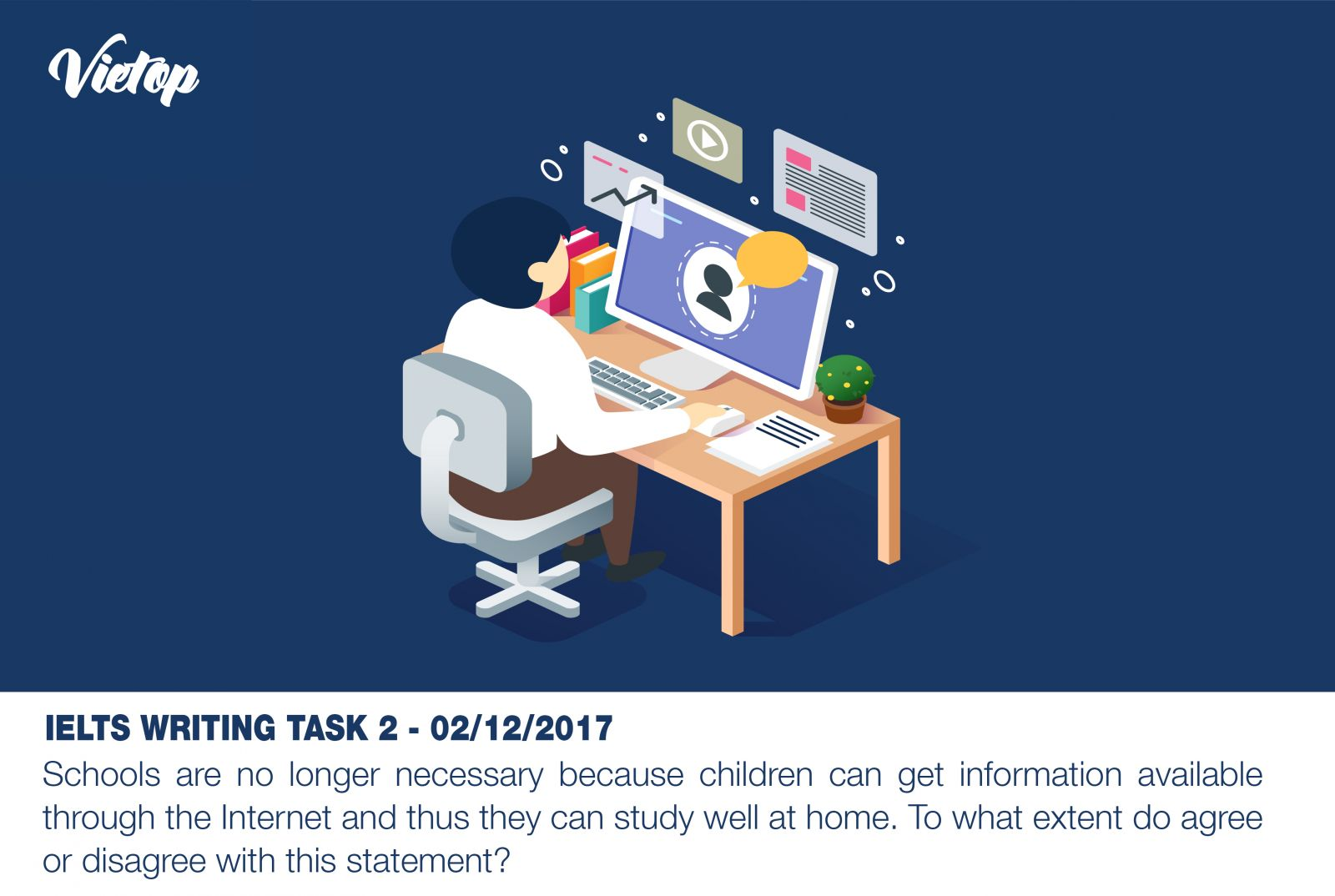 Đề thi Writing Task 2 Sample Essay ngày 02/12/2017