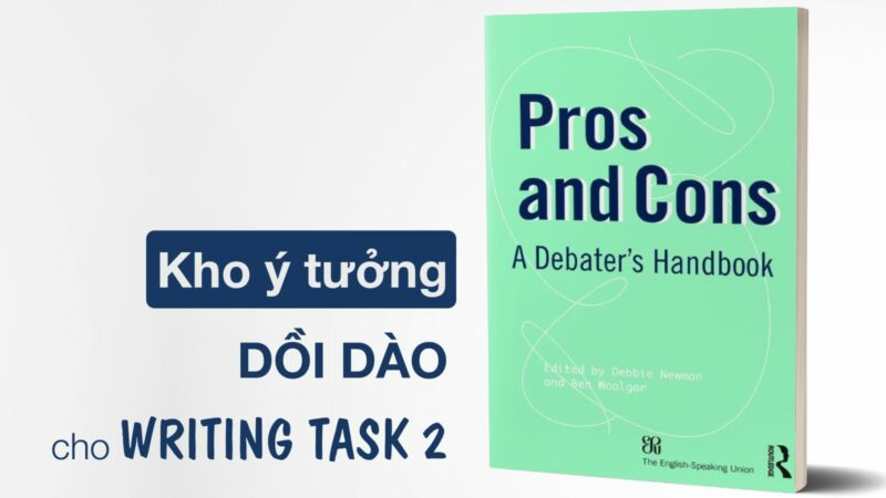 [REVIEW SÁCH] Pros and Cons – A Handbook for Debater (19th edition)