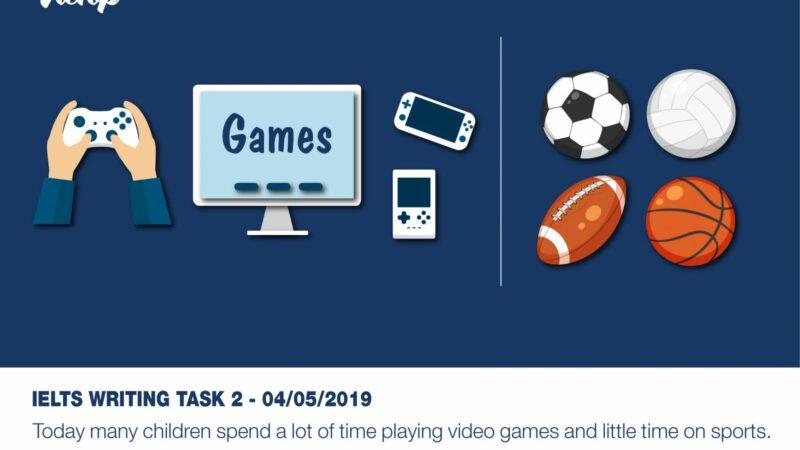 Samle Essay đề thi IELTS Writing Task 2 ngày 04/05/2019