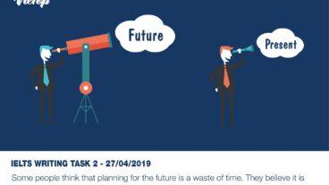 Đề thi IELTS Writing Task 2 Sample Essay ngày 27/04/2018