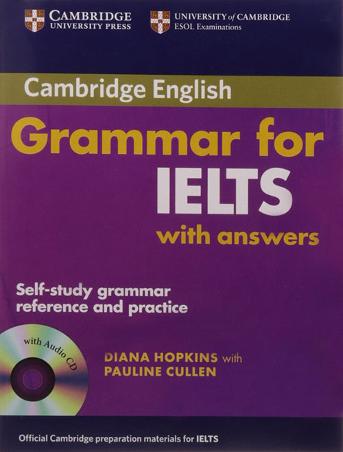 Bìa sách Cambridge Grammar for IELTS
