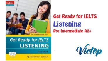 Get Ready for IELTS Listening Pre intermediate A2+