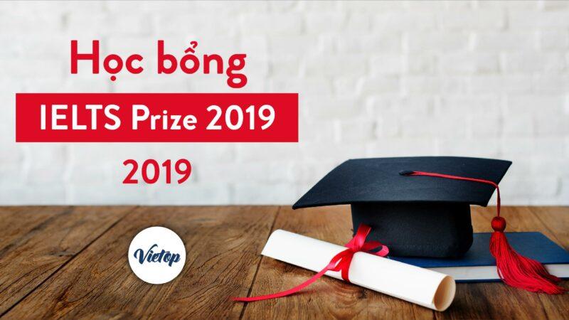 Học bổng IELTS Prize 2019