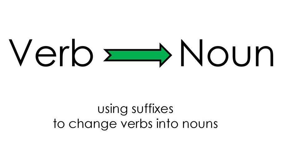 Cách chuyển động từ sang danh từ