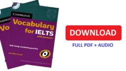 Cambride vocabulary for IELTS pdf-audio