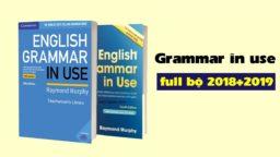 English grammar in Use for Intermediate – Sách ngữ pháp hay nên học