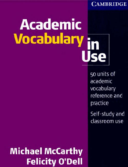 Bìa sách Academic Vocabulary for IELTS