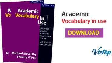 Cambridge Academic Vocabulary in use