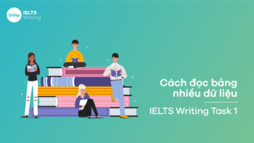 Cách đọc Bảng nhiều dữ liệu trong IELTS Writing task 1