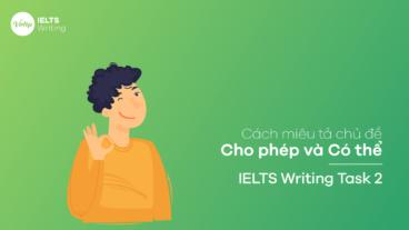 Cách miêu tả chủ đề Cho phép và Có thể - IELTS Writing Task 2