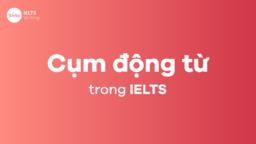 Cụm động từ thường dùng trong IELTS bạn nên lưu ý