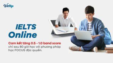 Khóa học IELTS Online tại Vietop