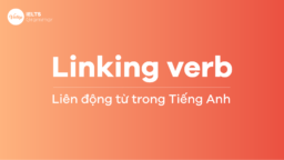Linking Verbs - Liên động từ trong Tiếng Anh IELTS