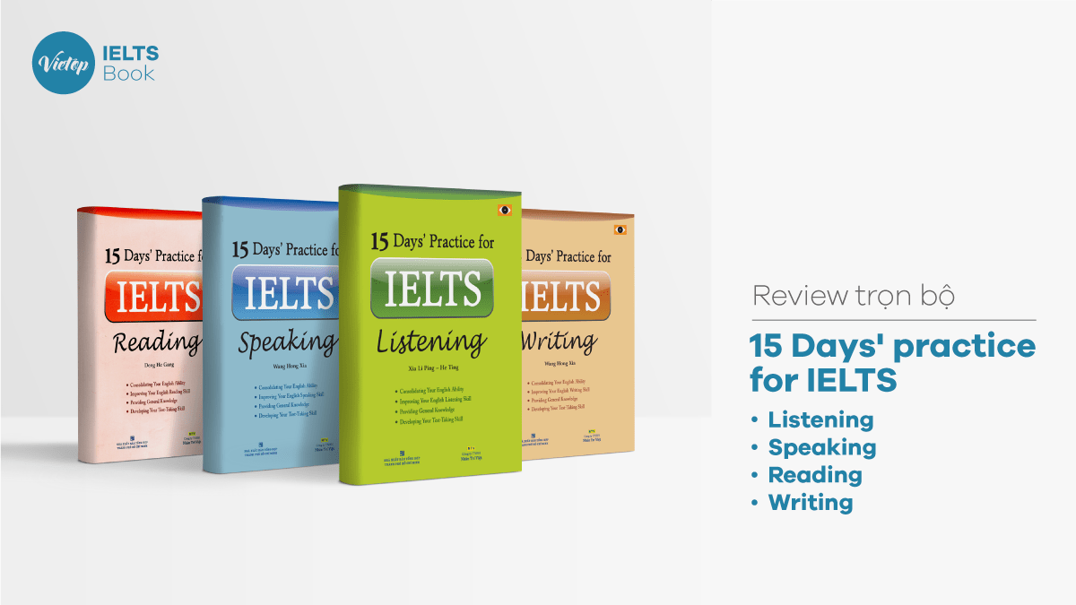 15 Days' Practice for IELTS