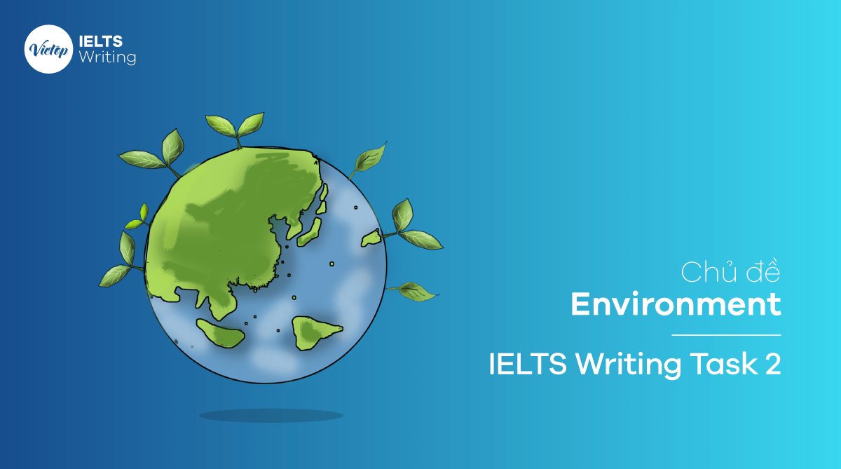 Chủ đề Environment – IELTS Writing Task 2