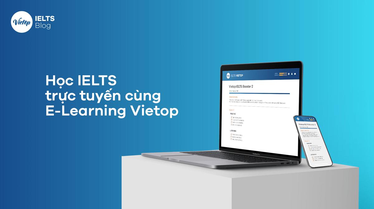 Giới thiệu về phần mềm học trực tuyến E-Learning Vietop
