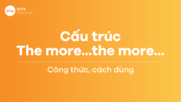 Cấu trúc the more…the more…