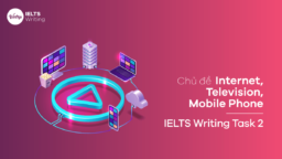 Chủ đề Internet, Television, Mobile Phone – IELTS Writing Task 2