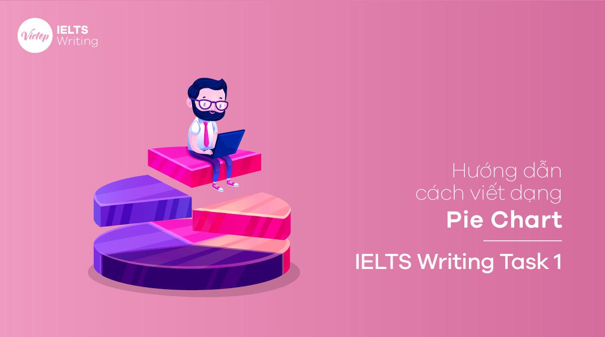 Hướng dẫn cách viết dạng Pie Chart – IELTS Writing Task 1