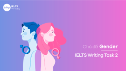 Chủ đề Gender – IELTS Writing Task 2