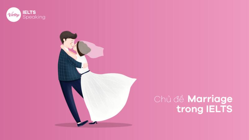 Marriage - Chủ đề Hôn nhân trong IELTS