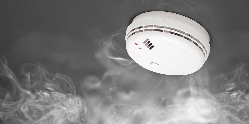 Smoke detector : đầu dò khói