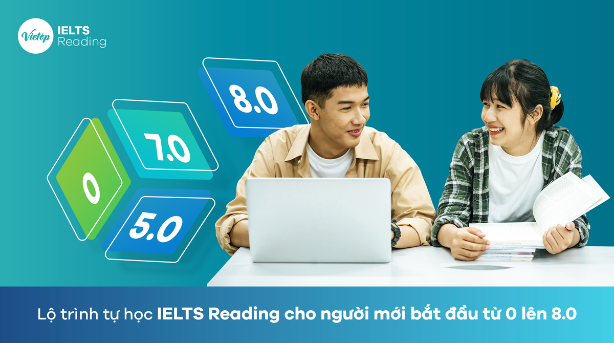 Lộ trình học IELTS Reading cho người mới bắt đầu từ 0 lên 8.0