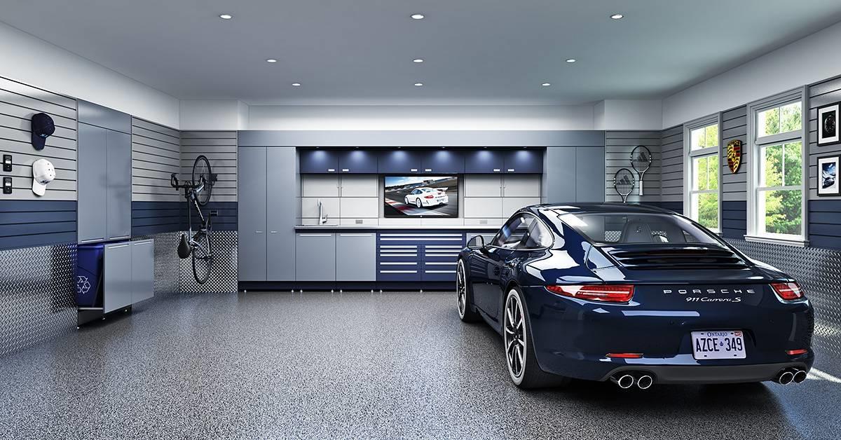 Garage: nhà để xe