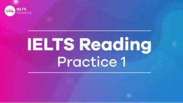 IELTS Reading Practice 1