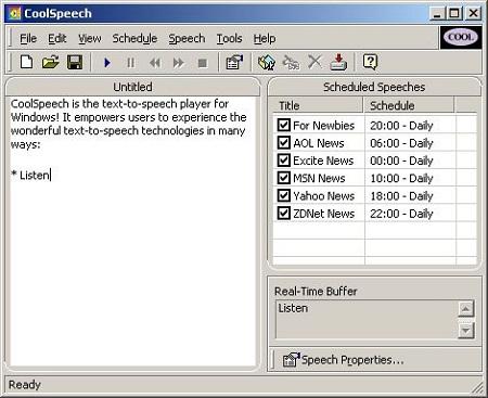 Phần mềm CoolSpeech