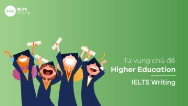 Từ vựng chủ đề Higher Education - IELTS Writing