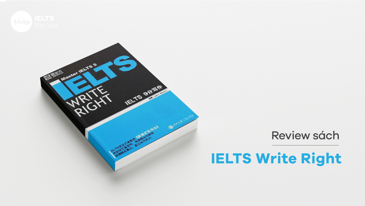 Review Sách IELTS Write Right