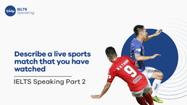 Describe a live sports match that you have watched.